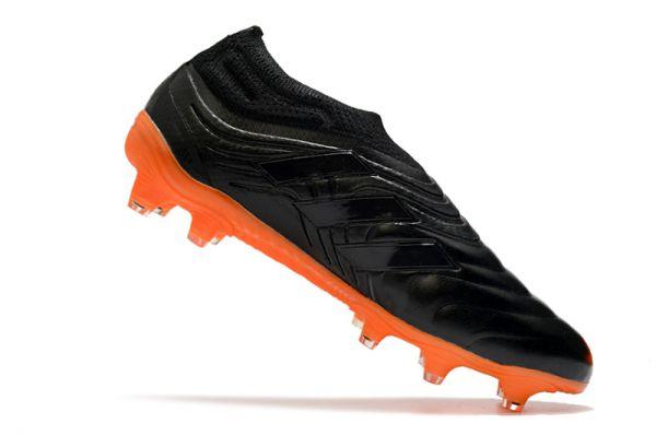 2021 Adidas Copa 20+FG Black Orange