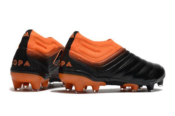 2021 Adidas Copa 20+FG Black Signal Orange