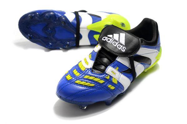 2021 Adidas Predator Accelerator 20 FG - Royal Blue/White/Lime