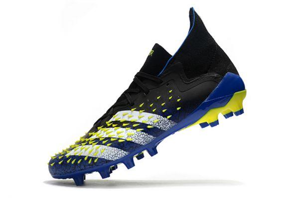 2021 Adidas Predator Freak .1 AG Blue/Black/White/Yellow