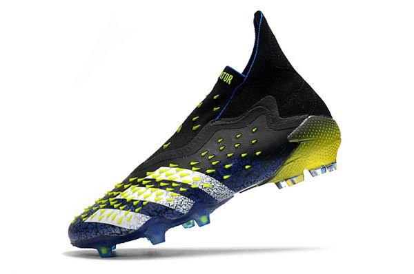 2021 Adidas Predator Freak FG Blue/Core Black/White/Yellow