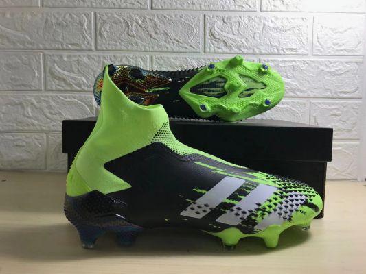 2021 adidas Predator Mutator+ FG Signal Green/White/Core Black