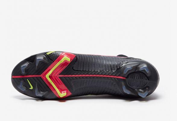 2021 Nike Mercurial Superfly 8 Elite FG -  Black/Cyber/Off Noir