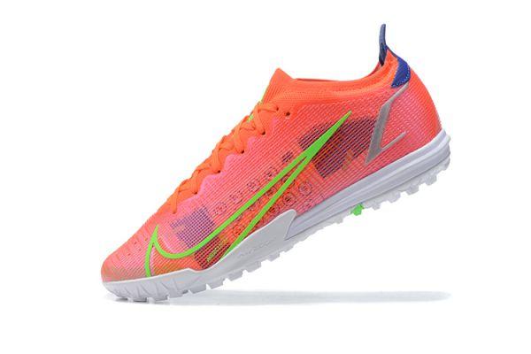 2021 Nike Mercurial Vapor 14 Elite TF Bright Crimson/Metallic Silver