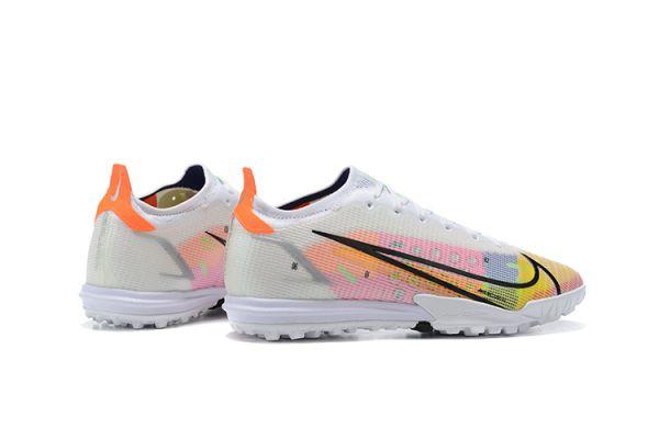 2021 Nike Mercurial Vapor 14 Elite TF White/Metallic SIilver/Dark Raisin