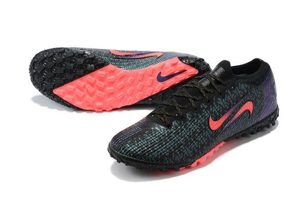2021 Nike Vapor 13 Elite TF Black/Fierce Purple/Metallic Silver/Crimson