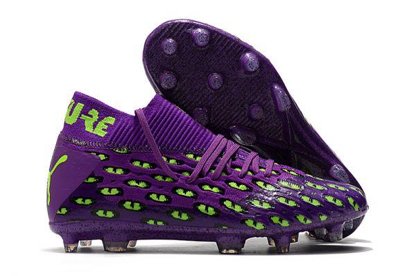 2021 Puma Future 5.1Netfit FG Purple Green