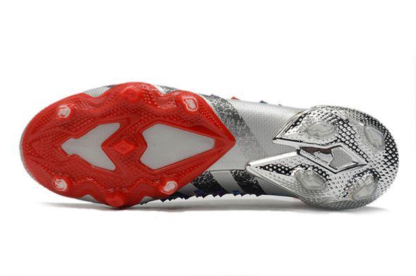 Cheap Adidas Predator Freak+ FG Silver Metallic Core Black Scarlet