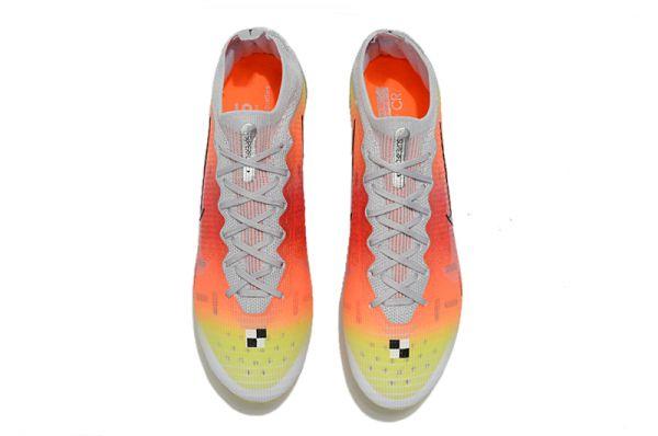 Kids Nike Mercurial Vapor Dream Spee 004 Elite AG-PRO White Metallic Silver Pure Platinum
