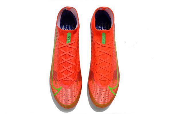 2021 Nike Mercurial Superfly 8 Elite AG-PRO Bright Crimson Metallic Silver