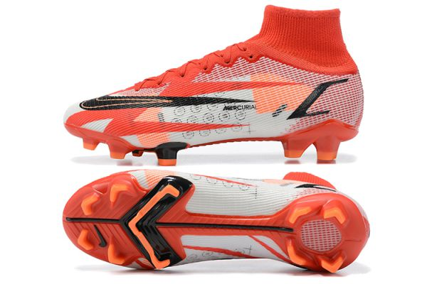 Cheap Nike Mercurial Superfly 8 Elite CR7 FG Chile Red Black Ghost Total Crimson