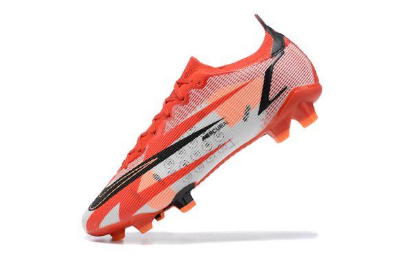 2021 Nike Mercurial Vapor 14 Elite CR7 Boots FG Chile Red Black Ghost Total Crimson