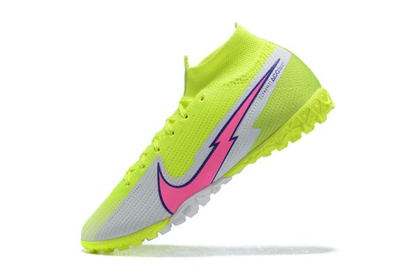 Nike Mercurial Superfly 7 Elite TF Volt White Pink