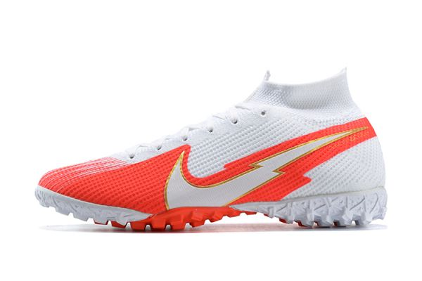 Nike Mercurial Superfly 7 Elite TF White Red
