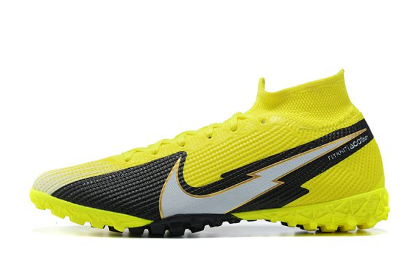 Nike Mercurial Superfly TF Volt White Black