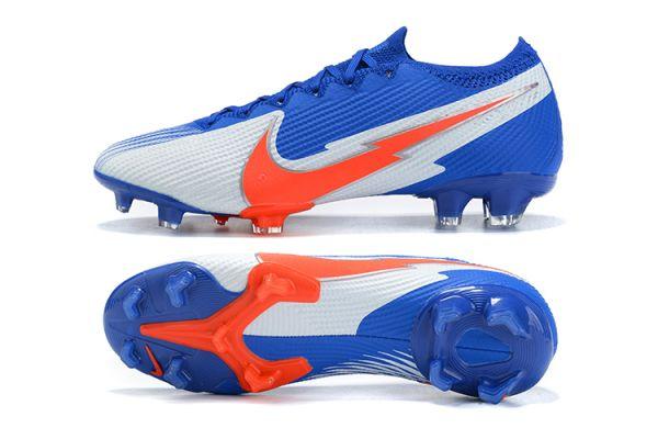 Nike Mercurial Vapor 13 Elite FG Blue White Orange