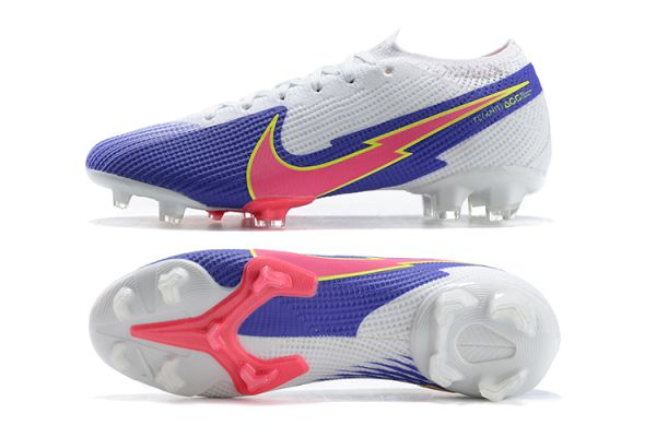 Nike Mercurial Vapor 13 Elite FG Blue White Pink