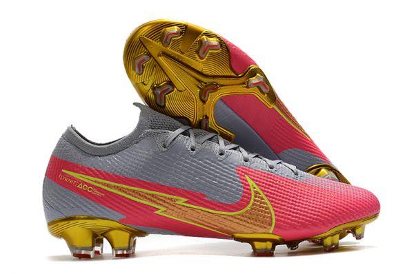 Nike Mercurial Vapor 13 Elite FG Gray Pink Gold