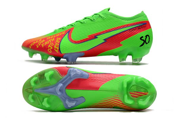 Nike Mercurial Vapor 13 Elite FG Green Red Black
