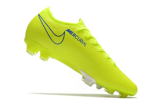 Nike Mercurial Vapor 13 Elite FG Volt Blue White