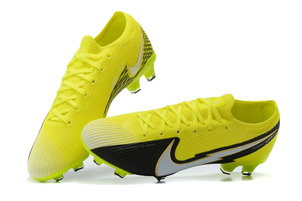 Nike Mercurial Vapor 13 Elite FG Volt White Black
