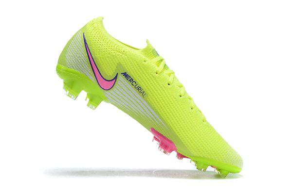 Nike Mercurial Vapor 13 Elite FG Volt White Pink