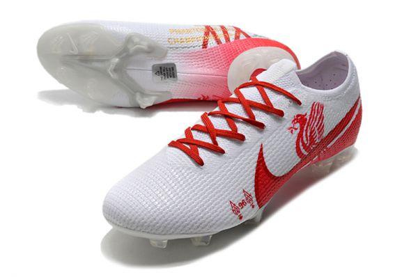 Nike Mercurial Vapor 13 Elite FG White Red