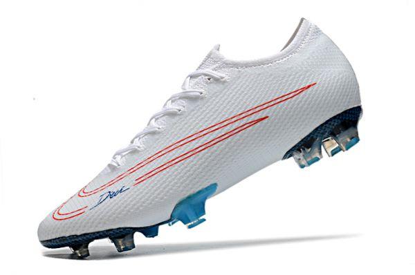 Nike Mercurial Vapor 13 Elite FG White Red Blue
