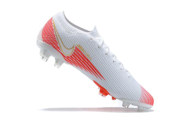 Nike Mercurial Vapor 13 Elite FG White Red Gold