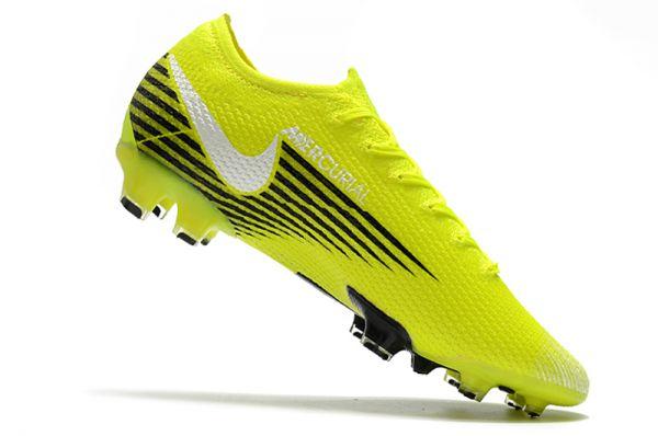 Nike Mercurial Vapor 13 Elite FG Yellow Black White