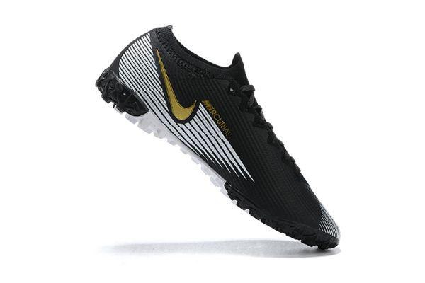 Nike Mercurial Vapor 13 Elite TF Black White Gold
