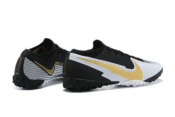 Nike Mercurial Vapor 13 Elite TF Black White Gold