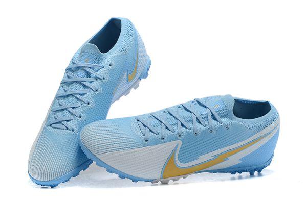Nike Mercurial Vapor 13 Elite TF Blue White Gold