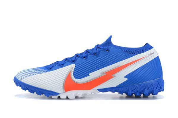 Nike Mercurial Vapor 13 Elite TF Blue White Orange