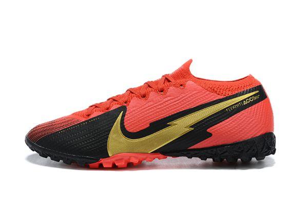 Nike Mercurial Vapor 13 Elite TF Red Black Gold