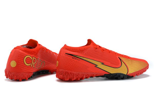 Nike Mercurial Vapor 13 Elite TF Red Gold Black