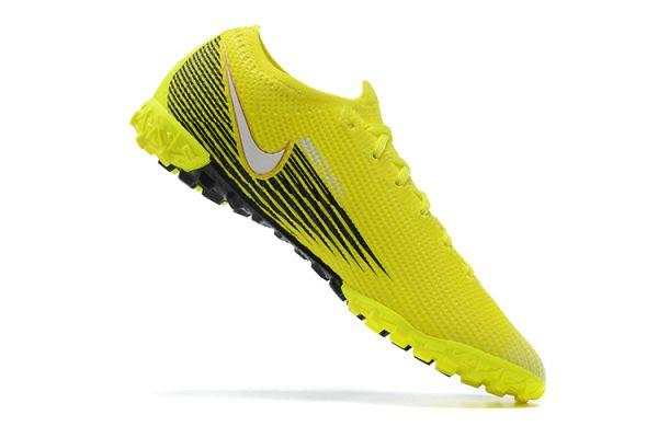 Nike Mercurial Vapor 13 Elite TF Volt White Black