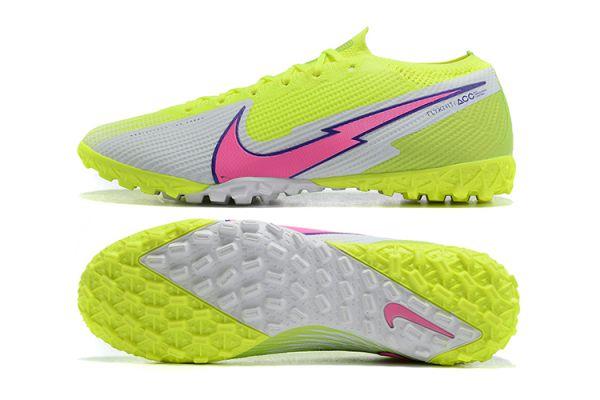 Nike Mercurial Vapor 13 Elite TF Volt White Pink