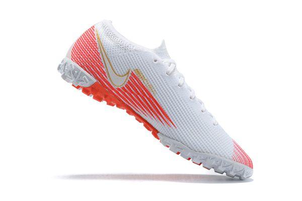 Nike Mercurial Vapor 13 Elite TF White Red