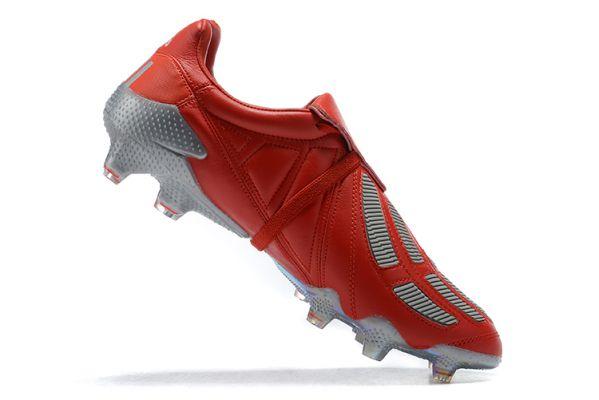 Adidas Predator Mania FG Tormentor Red Metallic Silver