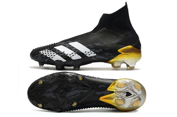 Adidas Predator Mutator 20 + FG Black / White / Gold / Silver