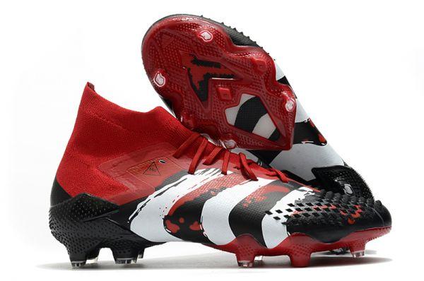 Adidas Predator Mutator 20.1 FG Human Race True Red White Core Black