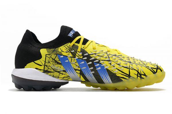 adidas Predator Freak.1 Low TF Football Boots Bright Yellow/Silver Metallic/Core Black