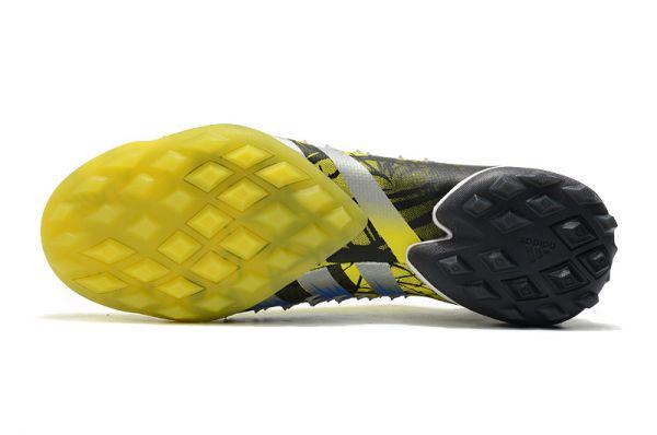adidas Predator Freak.1 TF Football Boots Bright Yellow/Silver Metallic/Core Black