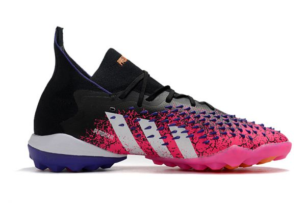 adidas Predator Freak.1 TF Football Boots Core Black/White/Shock Pink
