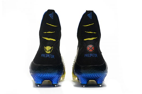 adidas Predator Freak+ FG Football Boots Bright Yellow/Silver Metallic/Core Black