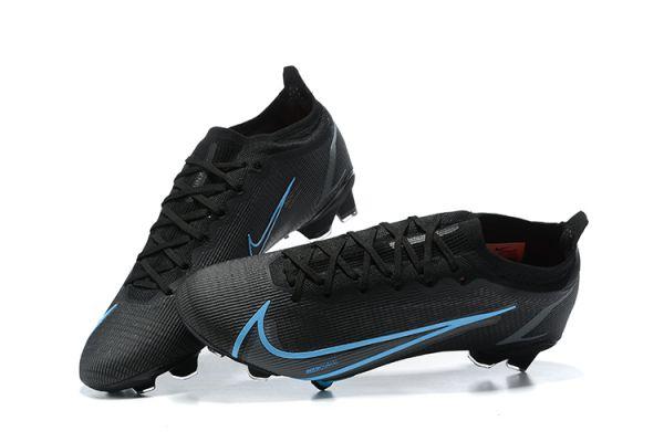 Nike Mercurial Vapor 14 Elite FG Football Boots Black Blue