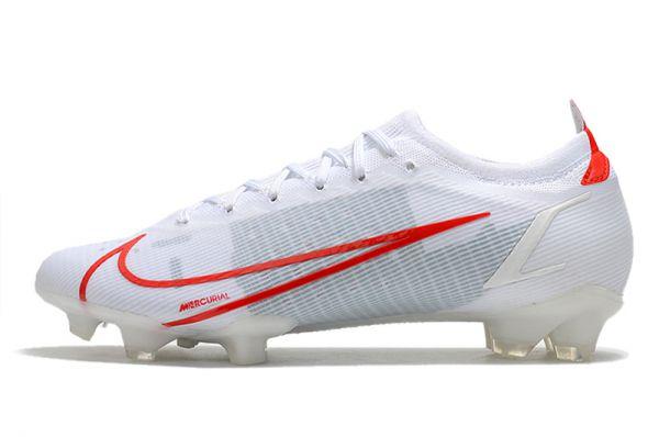 Nike Mercurial Vapor 14 Elite FG Football Boots White Red
