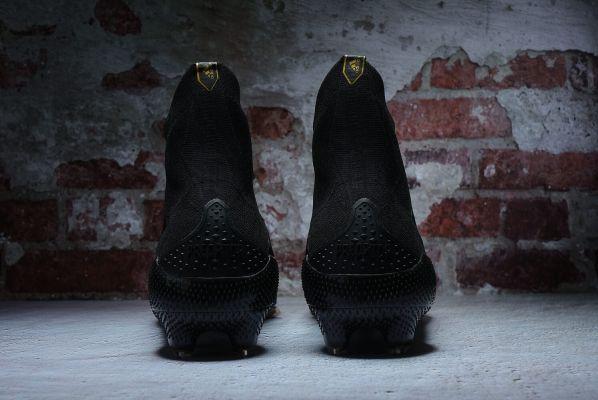 Kids adidas Paul Pogba Predator Mutator 20+ FG Black White Gold Metallic