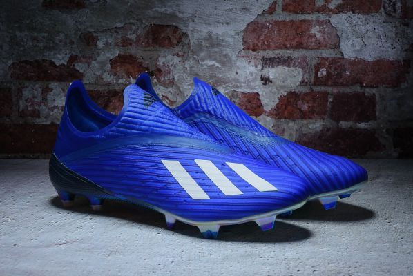 Kids adidas X 19+ FG/AG Mutator Royal Blue Footwear White Core Black